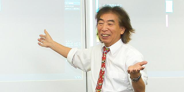 埼玉純真短期大学学長・藤田利久近影